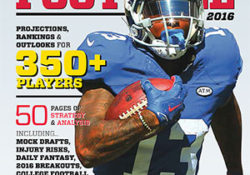 Get Your 2016 Rotowire Fantasy Football Magazine
