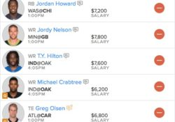Week 16 FanDuel Picks — Daily Fantasy Sports
